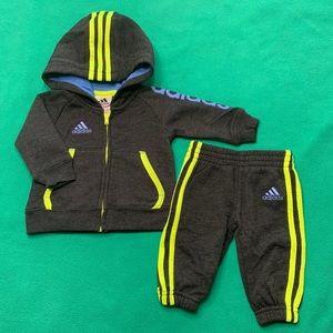 Baby Boy Adidas Sweatsuit